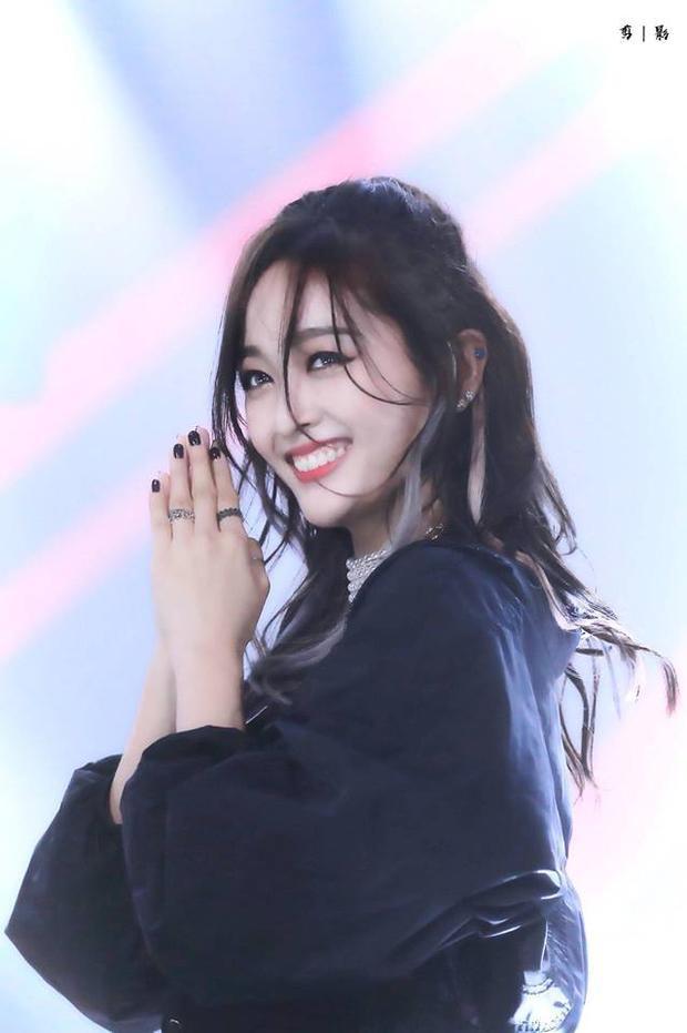Nụ cười đáng yêu của nữ thần.
