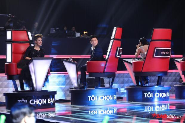 HLV Lam Trường không khỏi phấn khích trước giọng ca của Dương Quốc Anh.