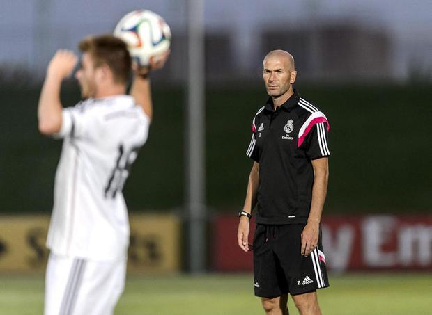Khi Zidane khởi đầu tại đội trẻ Castilla, không ai nghĩ ông sẽ thành công rực rỡ với Real Madrid như bây giờ.