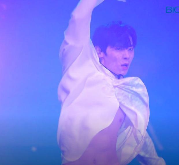Từng là thùng nước lèo, bảo sao fan phát cuồng vì tai nạn lộ 6 múi của Minhyun!