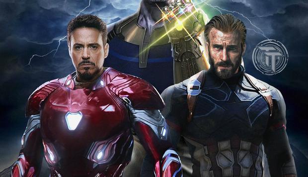 Hai siêu anh hùng cốt cán của MCU.