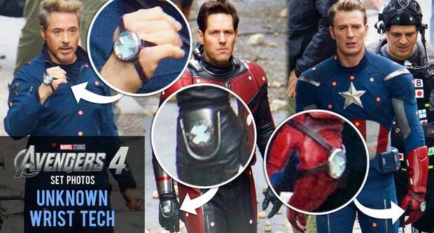 Hình ảnh hậu trường Iron Man, AntMan và Captain America của Avengers 4