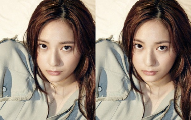 Ở góc ảnh này, Krystal cũng mềm mại hơn khi thay đổi sang nét mày hình cung.