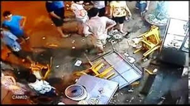 Hỗn chiến quán nhậu làm nhiều người bị thương. Hình minh họa
