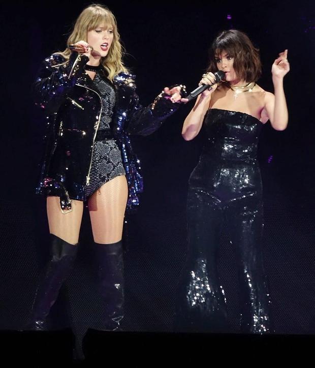 Quẩy một mình chưa đủ, Taylor Swift còn dắt díu cả hội bạn thân đến Reputation Tour cơ!