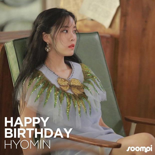 Sinh nhật vui vẻ, công chúa Hyomin của T-ara!