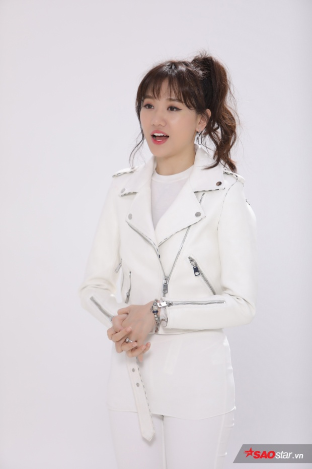 Hari Won hát ru những câu hát đặc trưng của xứ Kim chi.