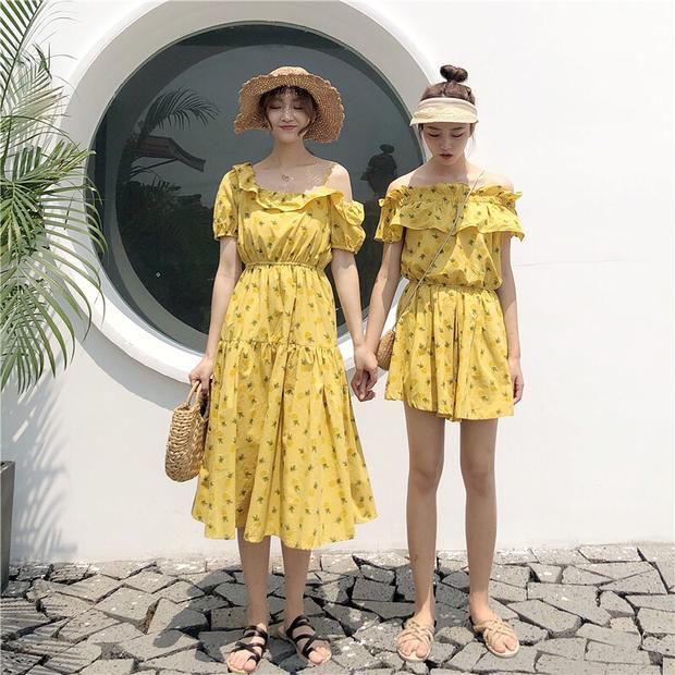 Rủ ngay bạn thân diện đồ đôi xinh hết nấc đi du lịch hè thôi nào