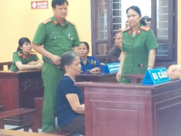 Bị cáo Xuân tại phiên tòa.
