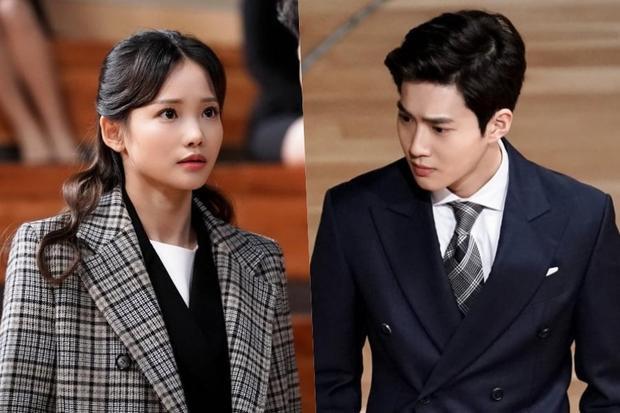 Kim Bo Ra và Lee Yoo Chantrong phim 'Rich Man'.