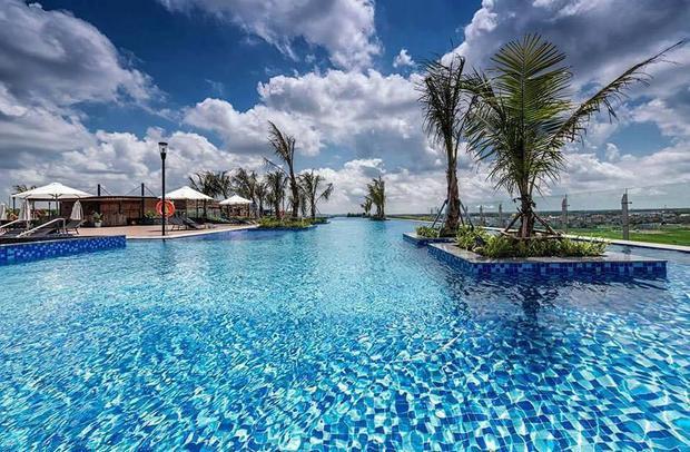 Bạn sẽ được tận hưởng cảm giác như đang ghé thăm một vùng biển nhiệt đới. Ảnh FBNV