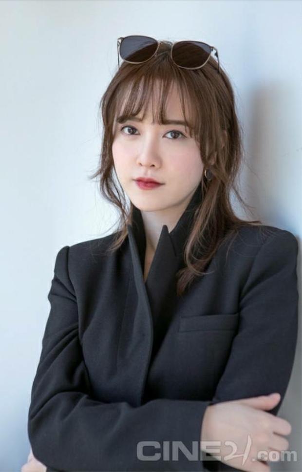 Đạo diễn kiêm diễn viên xinh đẹp Goo Hye Sun.