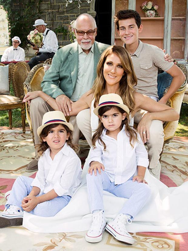 Celine hạnh phúc chia sẻ gia đình đối với mình quan trọng hơn bất kể mọi thứ trên đời.