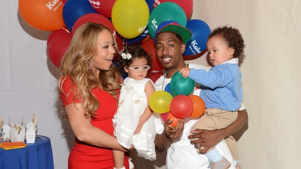 Gia đình hạnh phúc năm xưa của Mariah Carey và Nick Cannon.