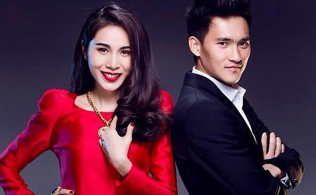 Công Vinh - Thủy Tiên là mối tình đẹp giữa cầu thủ và showbiz.