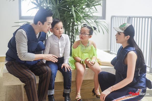 Hứa Vĩ Văn - Kỳ Duyên bày kế cho 2 em bé gây rối đội Trấn Thành - Hari Won.