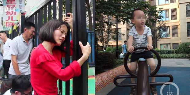 Cha mẹ cậu bé bàng hoàng trước sự ra đi của con trai.