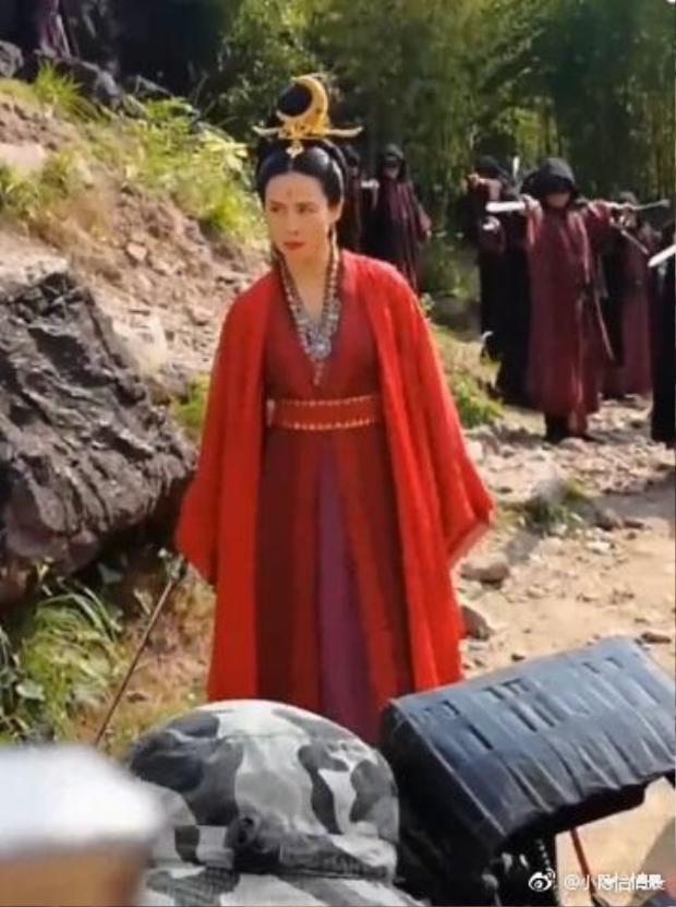 """Một cảnh quay trong phim """"Thính tuyết lâu"""" của Tuyên Huyên"""