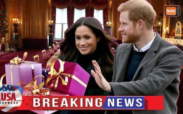 Cặp vợ chồng mới cưới Hoàng tử Harry và Công nương Meghan Markle đã gửi trả lại các món quà cưới với tổng trị giá hàng triệu bảng Anh. Ảnh: USA Express