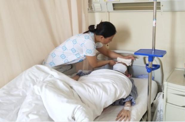 Năm 2016, Triệu Tinh bị chẩn đoán mắc bệnhbạch cầu myeloid cấp tính.