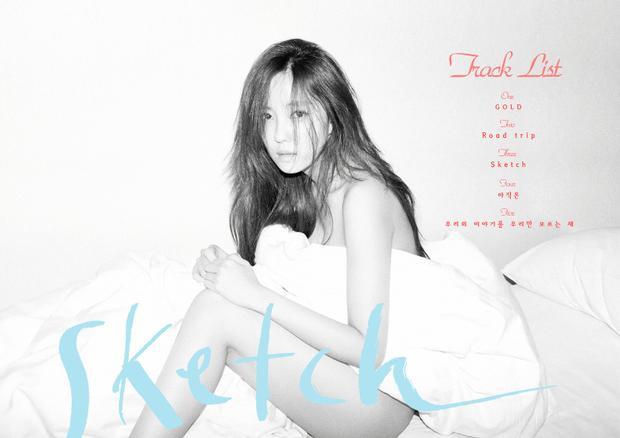 Mini album Sketch của Hyomin được phát hành vào ngày 17/3/2016 và cũng đạt nhiều thành tích đáng kể.
