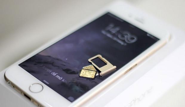 SIM ghép liên tục bị khoá khiến iPhone lock mất điểm.