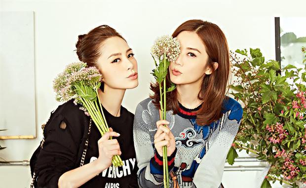 Chung Hân Đồng (Gillian Chung) sinh năm 1981, là một trong hai thành viên nhóm nhạc Twins đình đám xứ Đài cùng nữ ca sĩ Thái Trác Nghiên (Charlene Choi). Ảnh: Xinhuanet