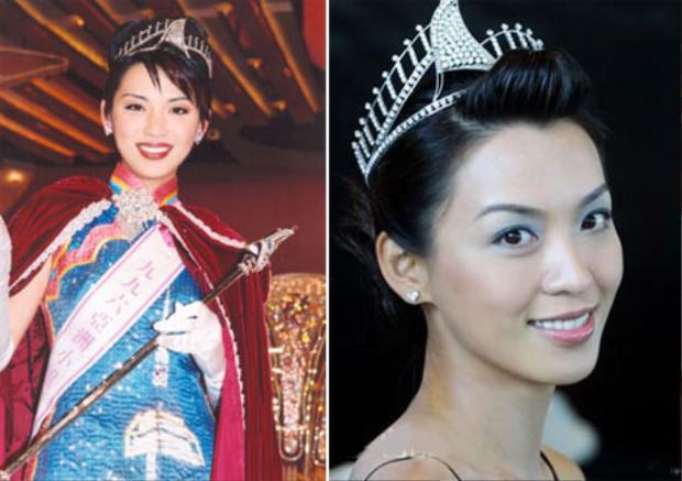 Hình ảnh đăng quang Hoa hậu Châu Á năm 1996