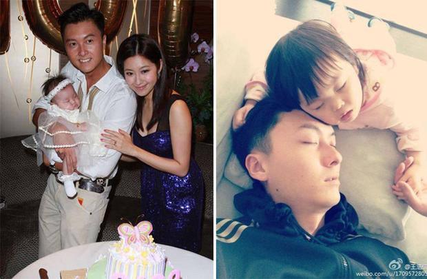 Gia đình đầm ấm của Vương Hạo Tín và Trần Tự Dao
