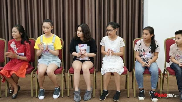 Những thí sinh đầu tiên trong buổi casting.