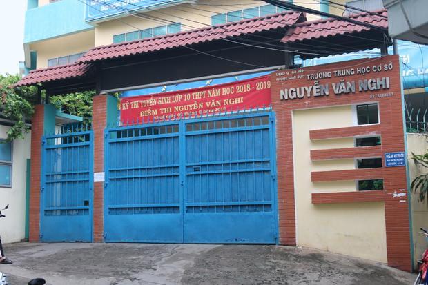 Hội đồng thi trường THCS Nguyễn Văn Nghi - Gò Vấp