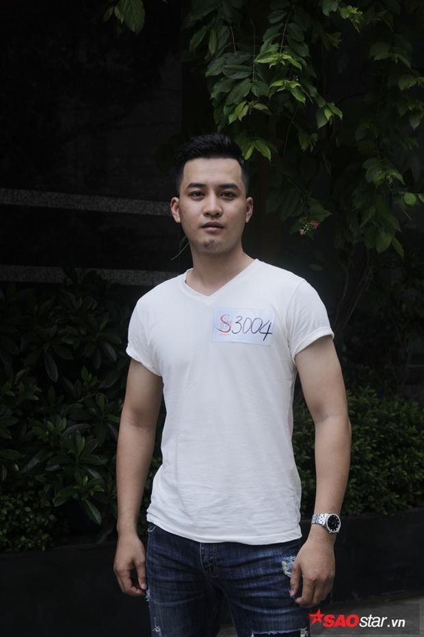 Thí sinh Đoàn Mạnh Hoàng có chiều cao 1m82, anh từng đạt giải Tài năng tại cuộc thi Người mẫu thời trang Việt Nam.
