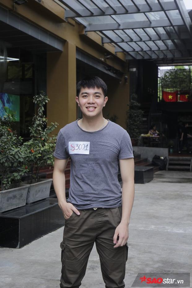 Thí sinh đầu tiên xuất hiện tại buổi casting là Phạm Thành Trung Hiếu, sinh năm 1997 và từng đạt giải nhất cuộc thi Sinh viên thanh lịch2016. Anh chàng gây chú ý với giám khảo bởi nụ cười cùng khả năng hát hết sức ấn tượng.