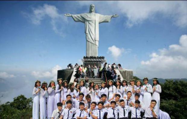 Từ Pháp tiếp tục cuộc hành trình đến Brazil.