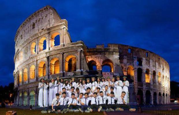 Đấu trường La Mã thời cổ đại.