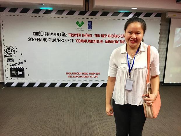 """Hương Giang là đạo diễn của phim ngắn: """"Khi bạn tin bạn có thể - Bạn có thể""""."""