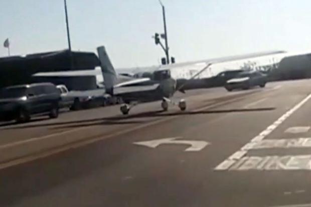 Chiếc máy bay cuối cùng cũng hạ cánh an toàn và không gây ra bất kỳ một tai nạn nào.