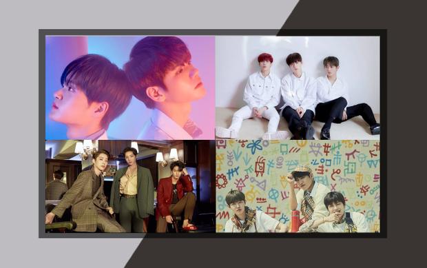 Các nhóm nhỏ của Wanna One trong album mới nhất.