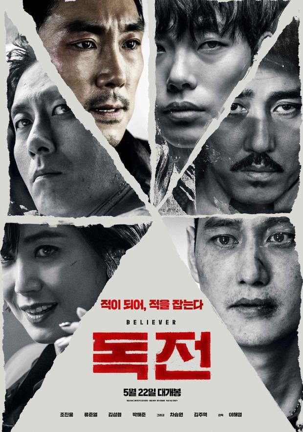 Liên tục dẫn đầu phòng vé, 'Believer' trở thành bộ phim Hàn Quốc thu hút 3 triệu khán giả nhanh nhất 2018