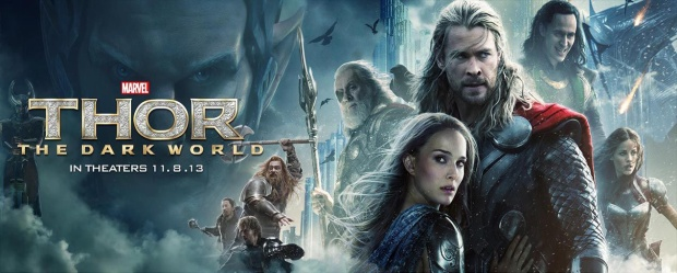"""""""Thor"""" tiếp tục ra mắt phần 2 mang tên """"The Dark World""""."""