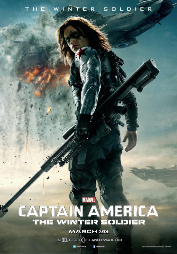 """Phần 2 của """"Captain America"""" là cái nhìn sâu sắc về nhân vật Bucky Barnes."""