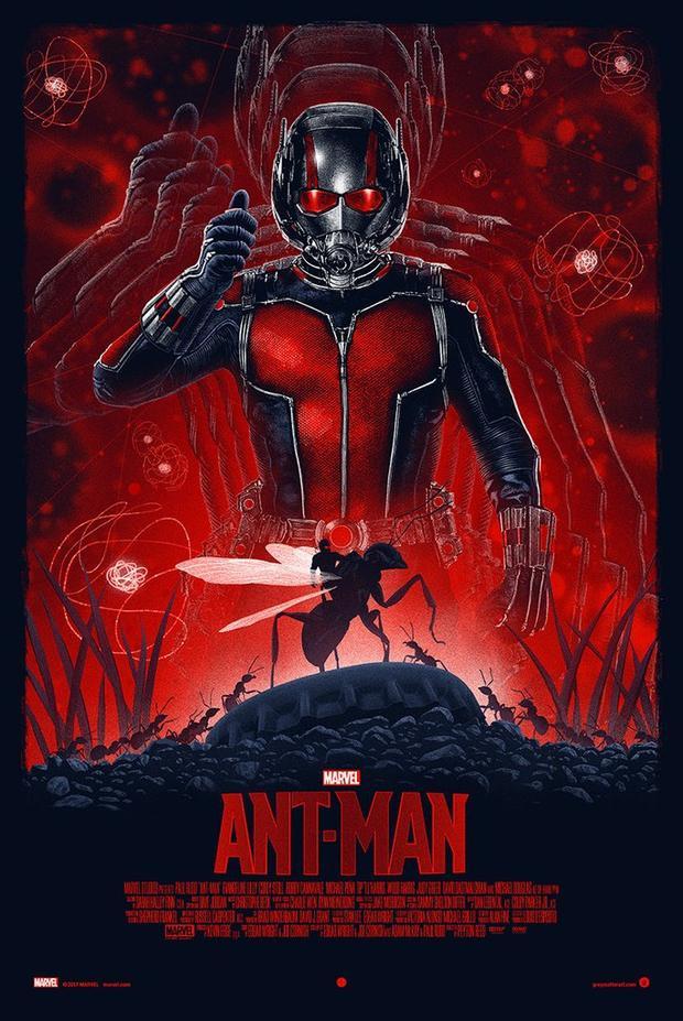 """""""Ant-Man"""" là sản phẩm giới thiệu về vị siêu anh hùng """"nhỏ"""" nhất của MCU."""