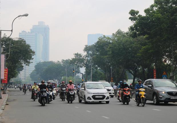 Nhiệt độ xuống thấp là điều kiện để hình thành sương mù. Ảnh: Nguyễn Diễm.