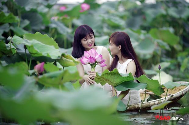 Hương thơm dịu mát và tinh khiết của sen lan tỏa khắp không gian khiến con người cảm thấy thư thái hơn bao giờ hết.