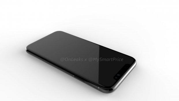 Thiết kế được cho là của chiếc iPhone phiên bản màn hình LCD 6,1 inch rò rỉ gần đây.