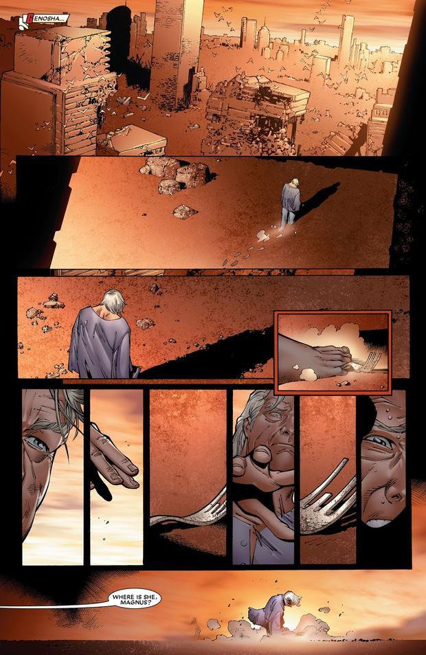Magneto mất sức mạnh, không thể nâng được dù chỉ một chiếc dĩa nhỏ