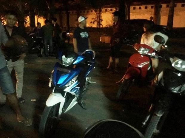 Chiếc xe máy anh Kiệt chạy chiều 3/6 do ông Tuấn mới mua tặng.