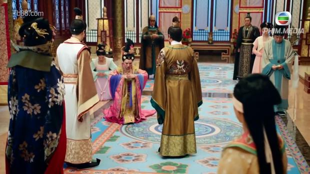 Thái Bình công chúa cúi xin Đường Duệ Tông cho mình rời triều vì bị Thái tử Lý Long Cơ kết tội giam cầm Thái tử phi…