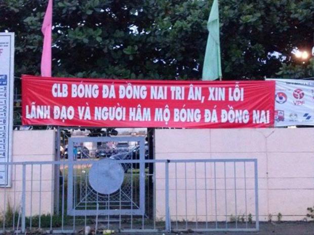 Đồng Nai xin lỗi lãnh đạo khi rớt hạng.