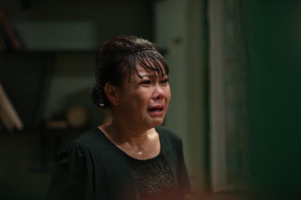 Thái độ lo lắng và tức giận của mẹ Hà Vy